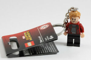 LEGO® Minifigure Star Lord Key Chain Brand New