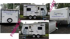 Coachmen 2 color Catalina Decals RV sticker decal graphics trailer camper rv KIT