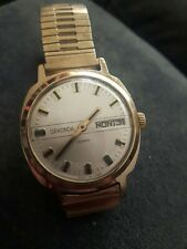 VINTAGE SEKONDA 21, JEWELS HAND-WINDING GENT'S WATCH. CAL 682651. Made in USSR.