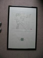John Lennon Baby Grand Lithograph Print Chop Mark Limited Edition