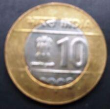 INDIA 2012 10 Rs WHOLESALE LOT 10 COIN 60 YEAR PARLIAMENT BI-METALLIC
