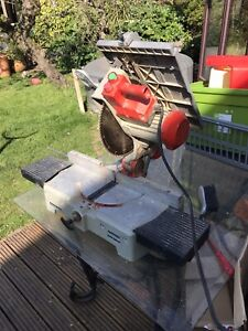 OMGA Mitre Saw MC 300ST BENCH SAW POWERS UP TABLE SAW