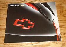 Original 2004 Chevrolet Monte Carlo Deluxe Sales Brochure 04 Chevy