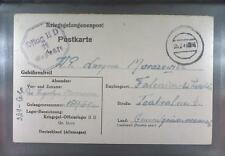 Camp Oflag IID Grossborn 1943 POW Prisoner of War Kriegsgefangenenpost (K11a)