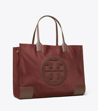 ON HAND  Authentic Tory Burch Ella Large Tote - MAROON