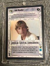 1995 Star Wars CCG Decipher Premiere Limited #181 Luke Skywalker Card MINT NM