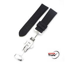 Nylon Fabric Leather Bracelet Watch Push Band Strap MERKUR HELSON DIVER
