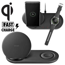 Wireless Charger Charging Stand Dock Pad for Samsung Galaxy Note 9 Phone + Watch