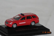 Mercedes E-Klasse T-Modell 2012 rot Feuerwehr 1:87 Schuco neu + OVP 25876