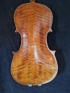 Sehr schöne Alte Itali. Meistergeige 4/4 Violine Etikett .CESARE CANDI anno 1907