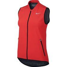 Nike Women's Composite Golf Vest Crimson/black Size Medium M
