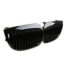 GLOSS KIDNEY GRILLES GRILL FOR BMW E81 E87 E88 1 SERIES 04-07 Hatchback