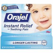 Baby Orajel Teething Pain Medicine Gel Cherry 0.33 oz.