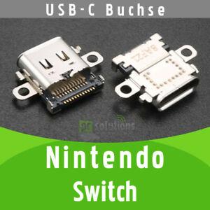 ✅ Nintendo Switch Konsole USB-C Buchse Ladebuchse Socket Port Connector