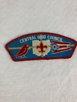 Vintage Boy Scouts Of America Patch Central Ohio Council BSA