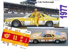 CD_DC-1977 #11 Cale Yarborough  1977 Holly Farms Monte Carlo  1:64 decals