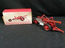 IH International McCormick 2 Bottom Tractor Moldboard Plow w Box ESKA Miniature