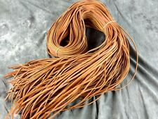 2 Tan Laces Baseball Glove Laces 1/4  x 72 Rawlings Tanner Laces