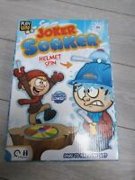 Joker Soaker Game Helmet with Water & Spinning Roulette Party Fun BBQ NYE