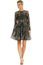 Thurley Fables Mini Dress Black Size 10