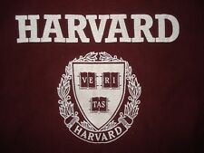 Vintage 1980s Harvard Champion Reverse Weave Sweatshirt Crew Neck 80s T Shirt M
