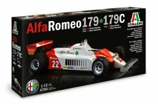 Italeri 4704 1/12 Scale Model Formula One F-1 Car Kit Alfa Romeo 179/179C