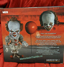 "NEW Mezco Toyz Roto Stylized Clown It Pennywise Evil Doll MDS 2 Head 6"" IN Stock"