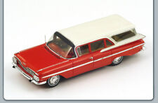 Chevrolet Impala Station Wagon 1959 Red/White 1:43 Spark S2905 Model