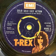 T-Rex-Solid gold easy action/BORN TO BOOGIE-EMI Marc - 3 ex (PLAY TESTED)