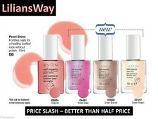 AVON NAIL EXPERTS PEARL SHINE TREATMENTS~FORTIFIES NAILS~ENRICHED WITH VITAMINS