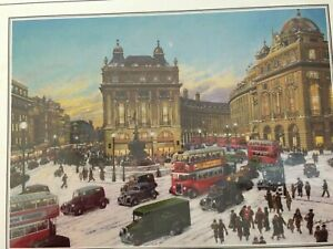 Gibsons Heritage 1000 Piece de luxe Jigsaw Puzzle Piccadilly Circus.New & Sealed
