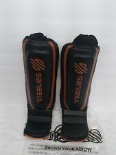 Sanabul Essential Hybrid Kickboxing MMA Shin Guards Copper XS