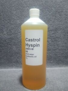 Castrol Hyspin AWH-M 68 anti-wear hydraulic oil. 1L