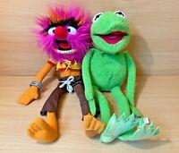 Disney Store Jim Henson The Muppets Animal And Kermit Bundle Soft Toys Plush