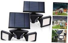 New listing Emaner Outdoor Solar Lights with Motion Detector, 2-in-1 Solar Flood Light, 6000