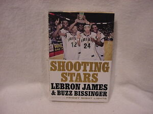 AWESOME LeBron James HC Book, Shooting Stars, Cleveland Cavaliers, GREAT READ!!