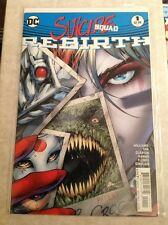 SUICIDE SQUAD REBIRTH #1  DC COMICS   2016  NM