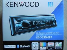 Kenwood KDC-X5000BT CD-Receiver With USB Bluetooth Dual Phone Connection