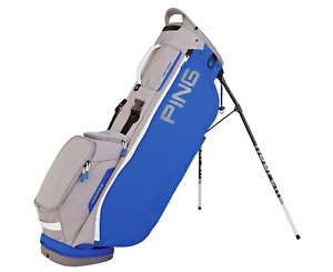 NEW PING HOOFER  LITE STAND BAG ROTAL BLUE /SILVER/WHITE COLOR 5LBS ONLY