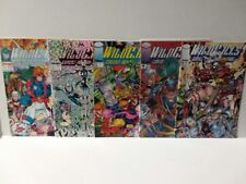 WILDCATS 1 - 5 - FIRST JIM LEE - FREE SHIPPING