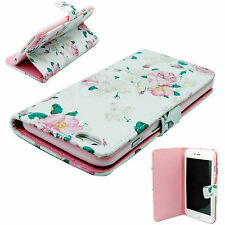 Magnetic Flip Phone Leather Wallet GEL Case Cover For Apple iPhone 6 Plus 5.5""