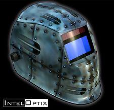 Rivets 1700 Auto Darkening Solar Welding Helmet Mask + Grind mode  ARC MIG Hood