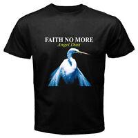 New FAITH NO MORE Angel Dust Rock Band Legend Men's Black T-Shirt Size S to 3XL