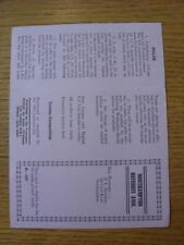"""1964/1965 Northampton árbitros sociedad: """"triples's la recaudación de fondos tarjeta (sin Uso)"""
