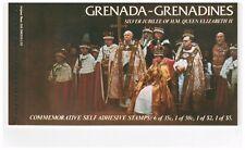 GRENADA GRENADINES 1977 BOOKLET SB1 SILVER JUBILEE QUEEN ELIZABETH II MINT
