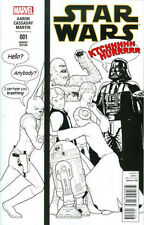 Star Wars Vol 4 #1 Incentive John Tyler Christopher Humorous Party Sketch Cover