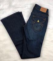 True Religion Boot Cut Denim Jeans 038-060041, High Waist, Women Size 27 (28x34)