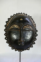 AO8 Baule Maske alt Afrika / Masque baoule ancien / Tribal baule mask