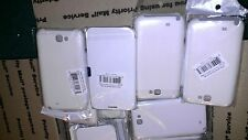 Lot of 5 Case for Samsung Galaxy Note 2 N7100 W/ Magnetic leather Flap White