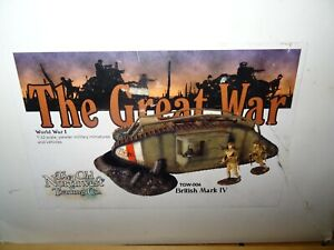 Old Northwest Trading Co -Great War- Set TGW-006 -British Mark IV Tank - Damaged
